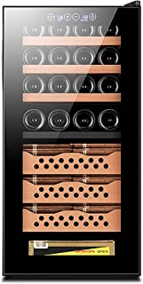Humidors Household Constant Temperature Electronic Humidifying Cigar Cabinet Office 50-80% Humidity Adjustment