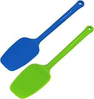 Chef Craft Silicone Spoon Spatula, 1-Count, Colors May Vary