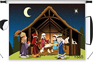 nativity background video