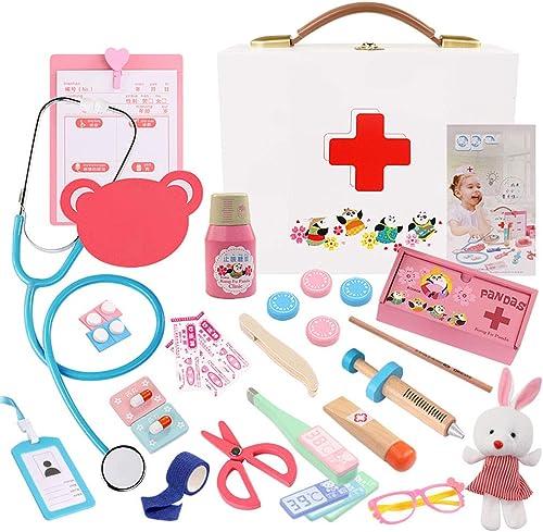 Kinder Arzt Anzug - Simulierte Spielzeug-Set Zahnarzt Medizinische Tasche Arzt Rolle Spielen Kinder Lernspielzeug, p gogische Spielzeug-Set (Farbe   1)