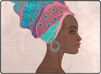 Paco Home Alfombra De Diseño Moderna Mujer con Tatuajes Henna En ...