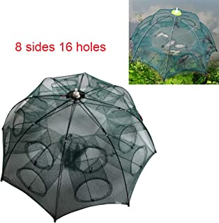 Portable Folded Fishing Net Automatic Fishing Net Trap...