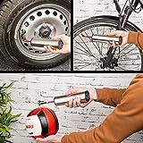 AGT Professional Fahrradpumpe Kompressor: Akku-Kompressor-Luftpumpe für Reifen