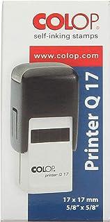 Colop Printer Q17 Squared Stamp, 17x17 mm