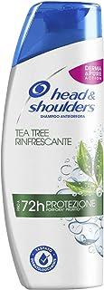 Head & Shoulders Tea Tree Rinfrescante Antiforfora Shampoo, 250ml