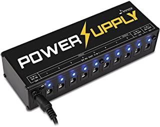 Donner Dp-1 Guitar Pedal Power Supply 10 Isolated DC...