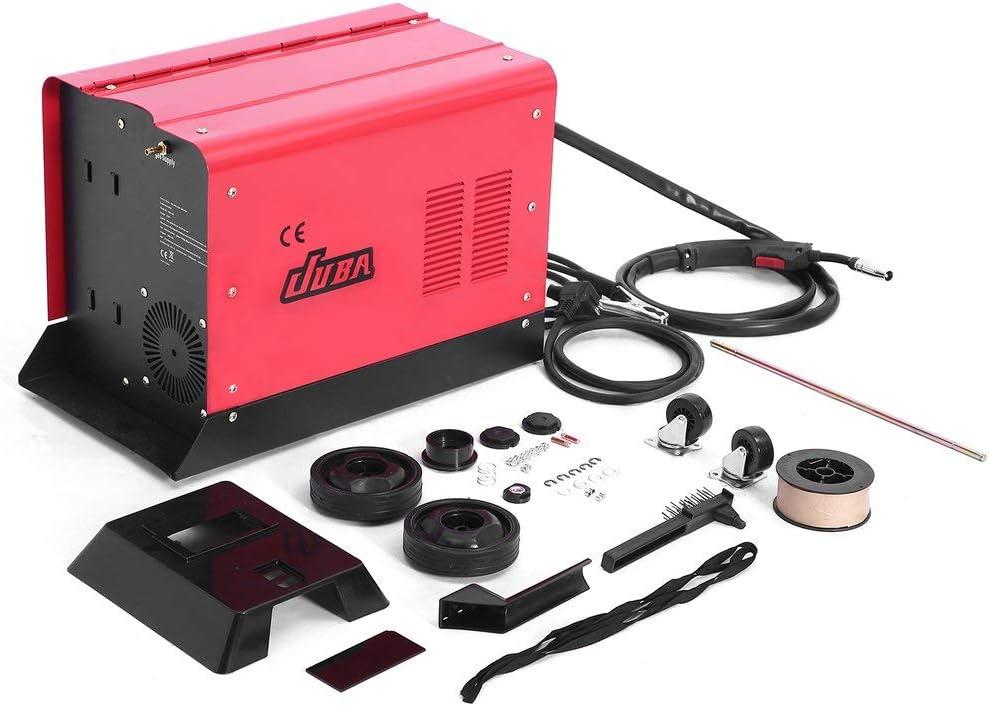 Machine de soudure stable au gaz de fil de refroidissement de ventilateur portatif monophas/é pour le soudage Poste /à souder inverter MIG-175