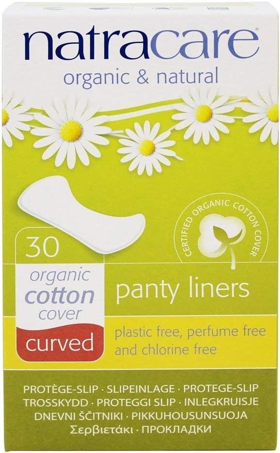Natracare 3060 Natural Curved Memphis Max 80% OFF Mall Liners Panty Count 30