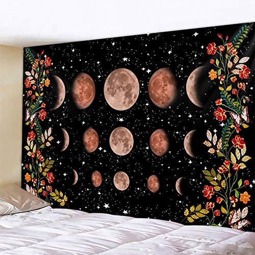 Tarjeta de Tarot adivinación decoración del hogar tapiz de brujería Mandala decoración de pared Hippie tapiz bohemio a14 130x150cm