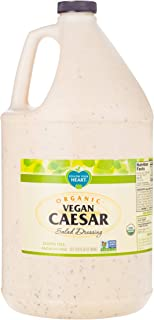 Follow Your Heart Organic, Dairy Free, Egg Free, Vegan Caesar Salad Dressing 1 Gallon (Pack of 4)