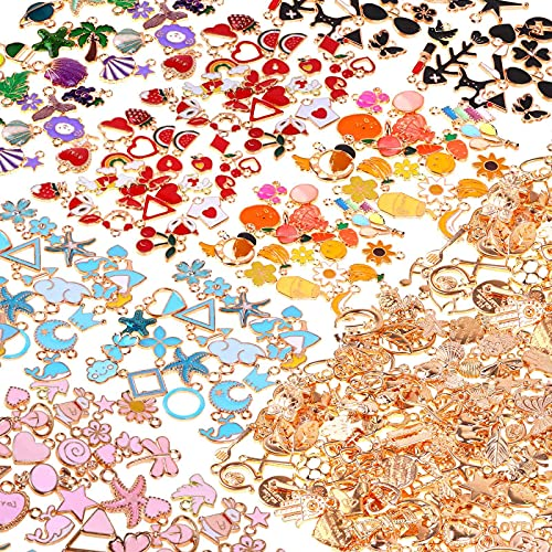 300Pcs Charms for Jewelry Making...