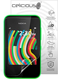 Celicious Impact Anti-Shock Shatterproof Screen Protector Film Compatible with Nokia Asha 230