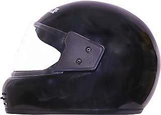 faishionpro Monte X-1 Professional Full Face Helmet (Black, Free Size)