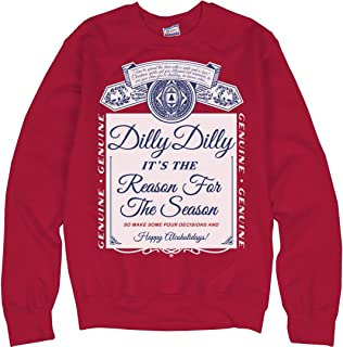 Dilly Dilly Xmas Drinking Sweater: Unisex Ultimate Crewneck Sweatshirt
