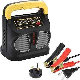 URAQT Cargador de Batería, 10A 12V/24V Mantenimiento Autom