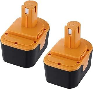 Powerextra 2 Pack 3000mAh Ryobi 14.4V Battery Compatible with Ryobi R10521 RY6201 RY6202 130224010 130224011 130281002 1314702 1400144 1400655 1400656 1400671 4400011 Tool