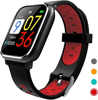 CRATEC W5 Activity Tracker Fitness Heart Rate Sleep Monitor Blood Pressure Waterproof Smart Watch, Bluetooth, Long Battery...