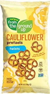 From the Ground Up Cauliflower Pretzel Twists - 12 Pack