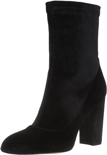 Sam Edelman damen& 039;s Calexa Fashion Stiefel, schwarz Stretch Velvet, 5 Medium US