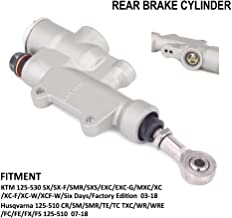 AnXin Motorcycle Rear Brake Pump Master Cylinder Pump Hydraulic Pump For KTM Husqvarna SX SXF SMR SXS EXC EXCG XC XCF XCW 125-530 CR SM TE TC FC FE FX FS 125-510