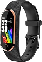 LCW Fitness Tracker, Activity Tracker Smart Watch with Heart Rate Monitor, Waterproof IP67 Smart Fitness Band Step Counter...