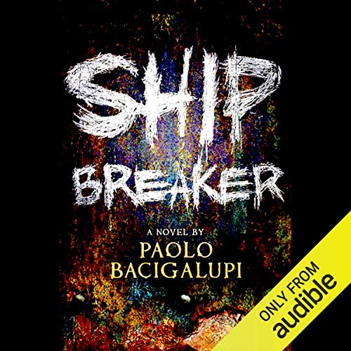 Ship Breaker audiobook cover art