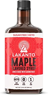 Lakanto Maple Flavored Syrup, 13 oz