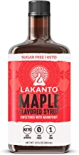 Lakanto Maple Flavored Sugar-Free Syrup, Keto Topping, 13 Fl Oz (Pack of 1)