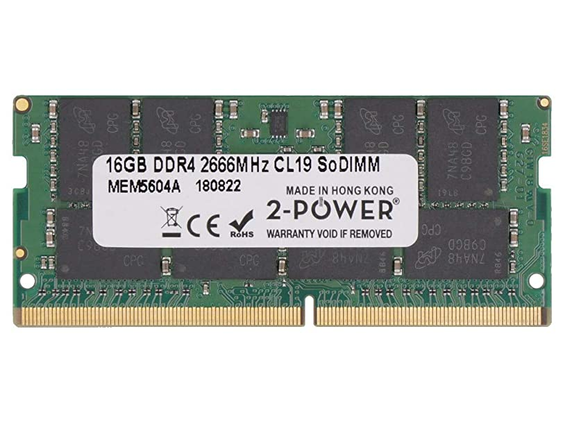 塩辛い供給リットル2-Power MEM5604A memory module 16 GB DDR4 2666 MHz