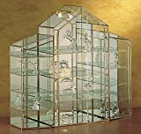 Vitrina para coleccionistas, cristal Vitrina, figuras, vitrina, niquelado, 1