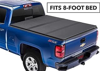 Extang Solid Fold 2.0 Hard Folding Truck Bed Tonneau Cover | 83455 | fits Chevy/GMC Silverado/Sierra 1500 (8 ft) 2014-18, 2500/3500HD - 2015-18, 2019 Silverado 1500 Legacy & 2019 Sierra 1500 Limited