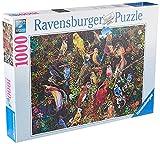 Ravensburger Puzzle, Puzzle 1000 Piezas, Aves de Arte, Puzzles para Adultos, Puzzle Animales, Puzzle Arte, Rompecabezas Ravensburger