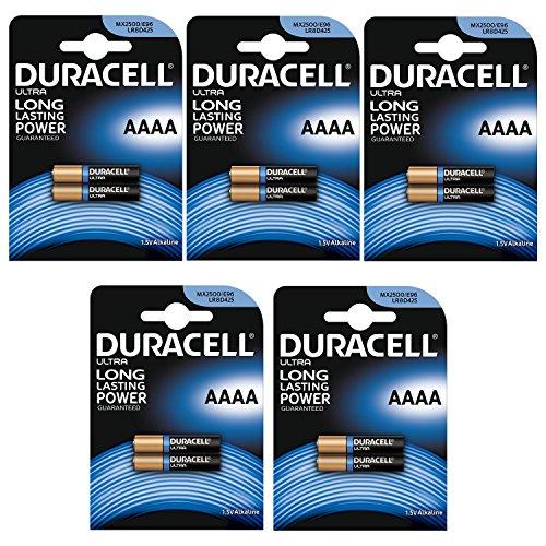 Duracell 7030990Batterie Ultra M3AAAA 1,5V PK10 – 10Stück
