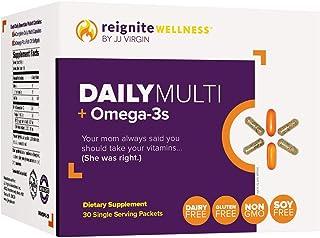 JJ Virgin Daily Essentials Vitamin Packs - Once Daily Essential Multivitamin, Minerals, Antioxidants & Fish Oil Supplement...