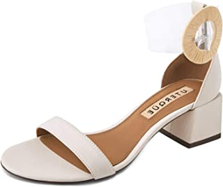 Uterque Women Leather and Vinyl Sandals 5024/051