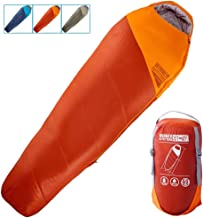 Best WINNER OUTFITTERS Mummy Sleeping Bag with Compression Sack, It