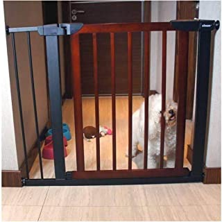 Expandable Baby Gates for Stairs Fence Fence Pet Safety Door Bar Solid Wood Free Punching Self Closing