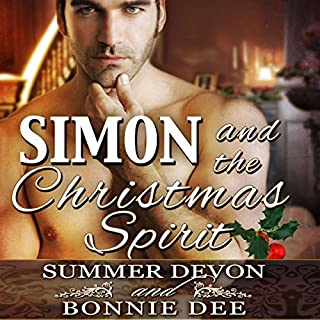 Simon and the Christmas Spirit                   By:                                                                                                                                 Bonnie Dee,                                                                                        Summer Devon                               Narrated by:                                                                                                                                 Cornell Collins                      Length: 2 hrs and 4 mins     2 ratings     Overall 3.0