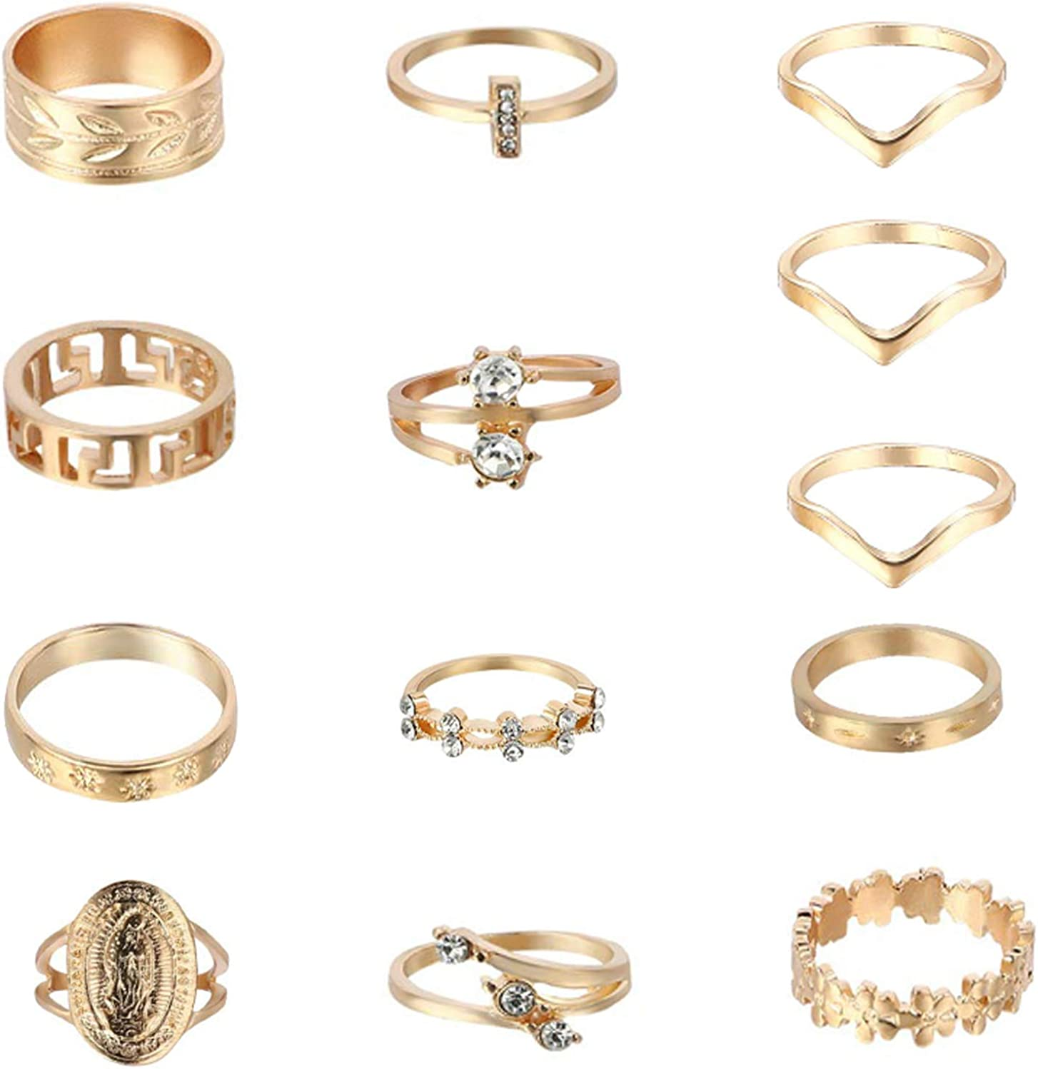 10-13Pcs Super special price Knuckle Stacking Rings for Women Set Ring Gold Free shipping / New Boho Mid