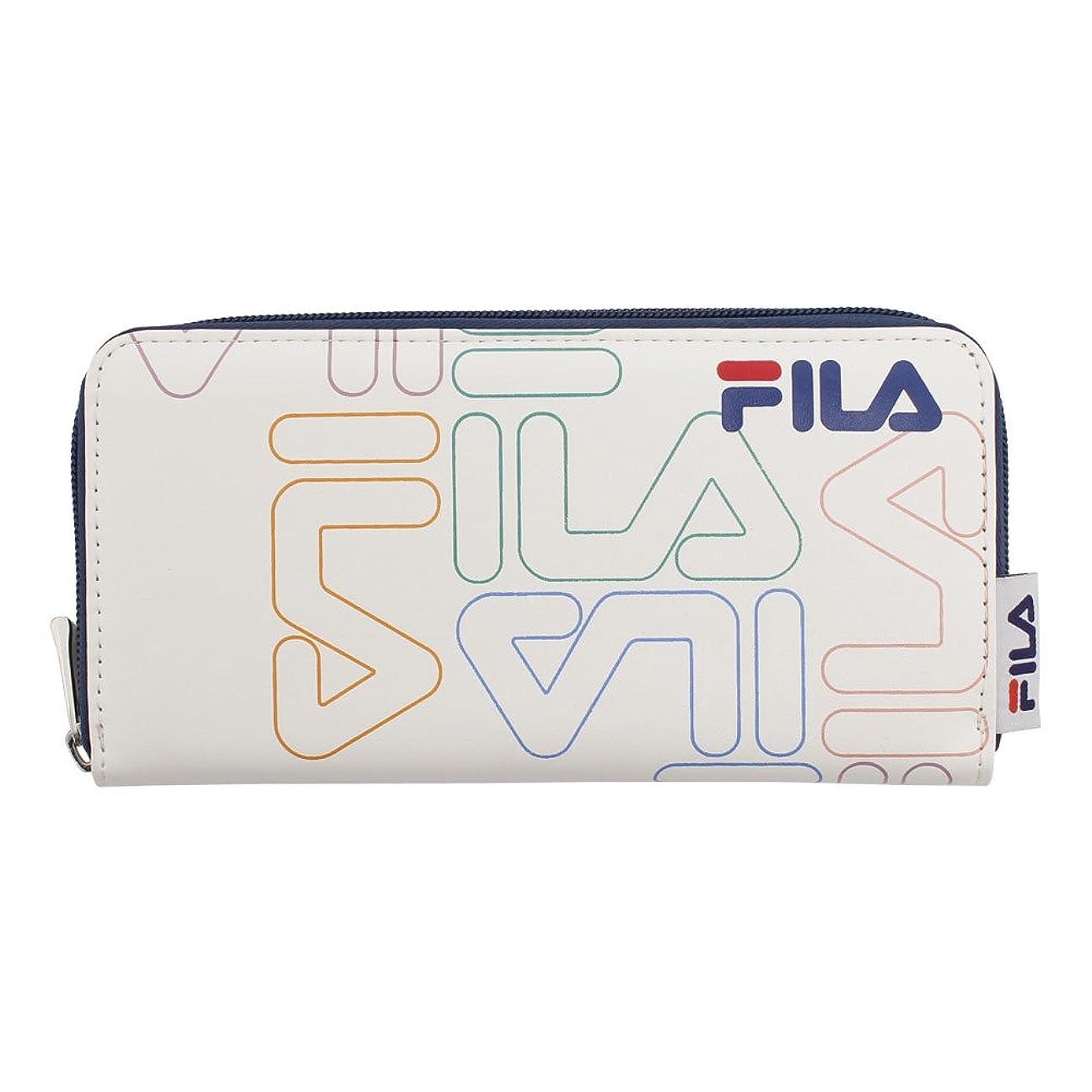商人方程式皮肉フィラ(フィラ) グラフィック 財布 FLGR001RFT-WHT