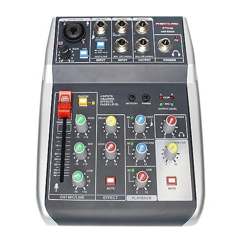 Portable Audio Mixer: Amazon com