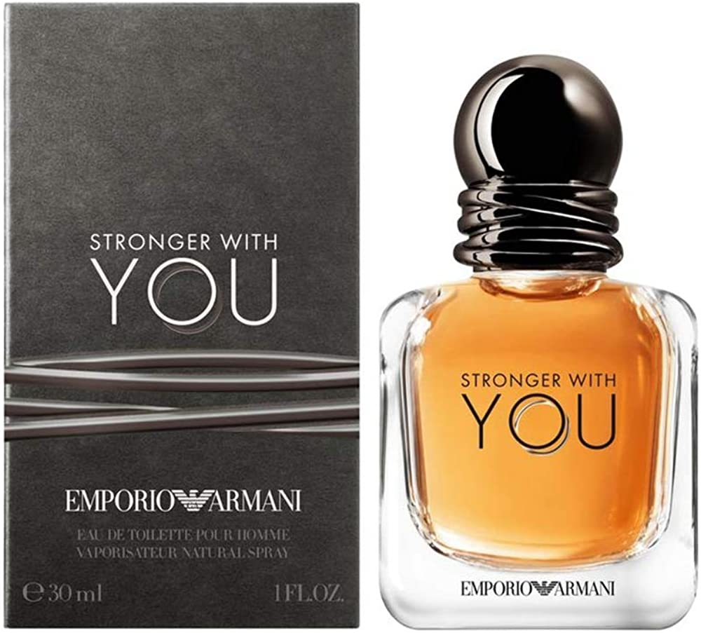 Armani collezioni stronger with you,eau de toilette per uomo, 50 ml 3614272889583