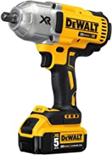 DEWALT 20V MAX XR Cordless Impact Wrench Kit with Detent Anvil, 1/2-Inch (DCF899P2)