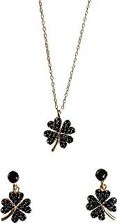 Petite flower set, black