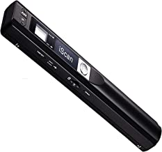Microware Portable Scanner iSCAN 900 DPI A4 Document Scanner Handheld for Business, Photo, Picture, Receipts, Books, JPG/P...