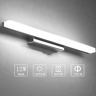 Yafido Aplique Espejo Baño Interior LED 50CM luz Baño Lá