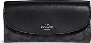 Coach Women's Boxed Slim Envelope Wallet in Signature Canvas, F54022