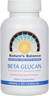 Ultra-Pure Beta 1, 3-D Glucan by Nature's Balance 500mg. - 60 Capsules