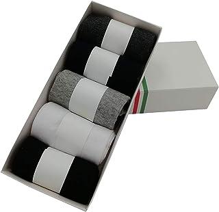 5 pares de calcetines de algodón para hombre, calcetines de trabajo, cómodos y transpirables, tamaño 6-11