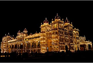 Premium Quality Wooden Jigsaw Puzzles, Educational Toy for Adults Kids - Royal Palace of Mysore, India, Basswood Relieve Stress Puzzle Toy,300/500/1000 Pieces (Size : 500 Pcs)